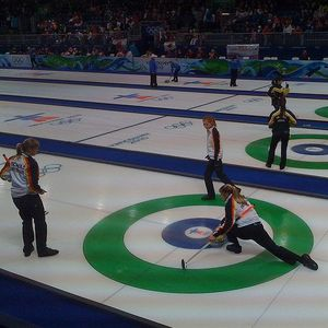 Curling provides quick  effective  workout