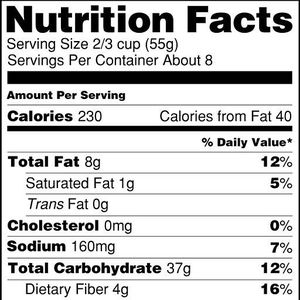 Nutritional label gets a makeover