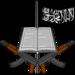 Logo of boko haram.square