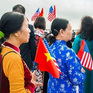 Vietnam communist party leaders arrives at joint base andrews  to meet president obama 150706 f wu507 252