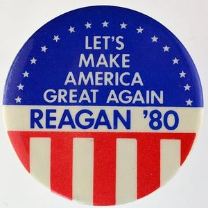 486px let's make america great again button