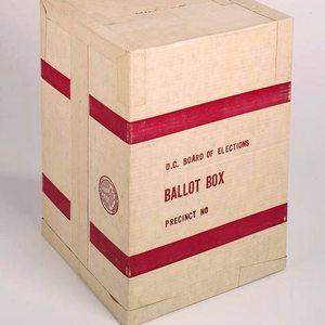 Cardboard ballot box   smithsonian
