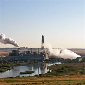 Dave johnson coal fired power plant  central wyoming