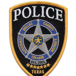 Dallas police patch