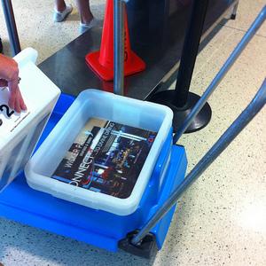 Airport bins