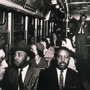 Ernest withers bus photo
