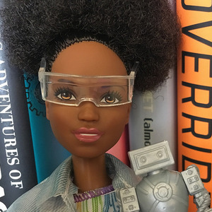 Black robotics barbie