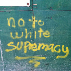 No to white supremacy