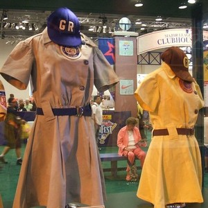 Women baseball uniforms