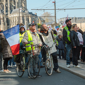 Yellow vest protest