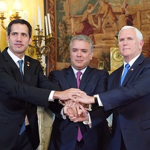 Guaido  pompeo  and pence