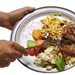 Food waste plate