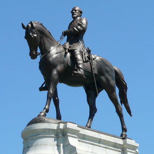 Monument ave robert e. lee