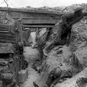Life in the trenches during world war i
