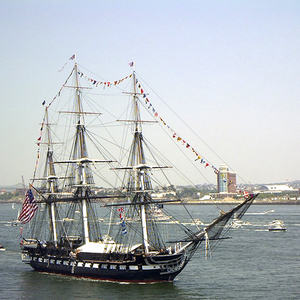 Old ironsides tribute to an american legend