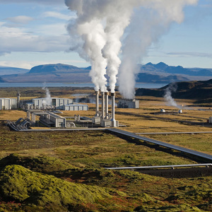 Volcanoes and geothermal energy
