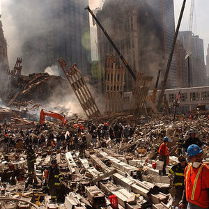 Courage at ground zero