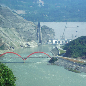 Earthquake damages hydropower systems