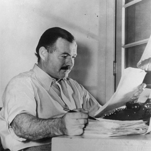 Ernest hemingway writing style example