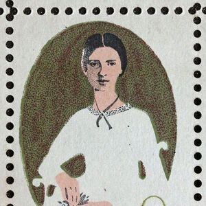 501px emily dickinson stamp 8c