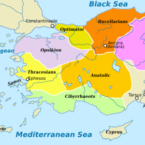 Byzantine empire themata
