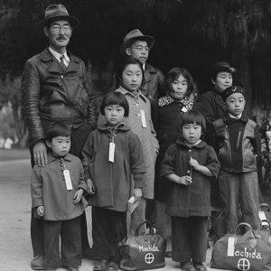 800px photograph of members of the mochida family awaiting evacuation   nara   537505   restoration