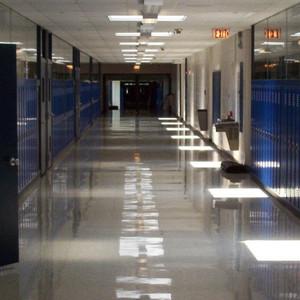 Quiet hallway