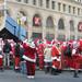 Santas everywhere