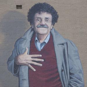 Kurt vonnegut mural