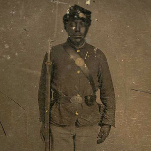 Black union soldier